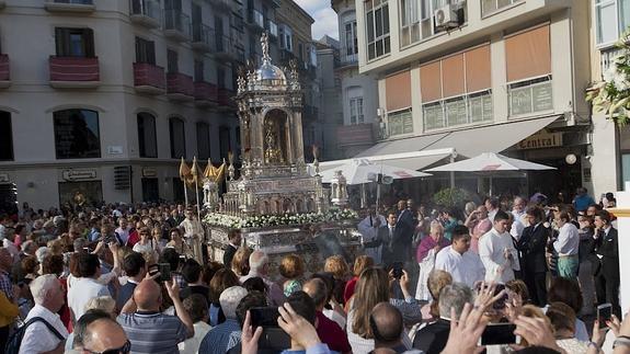 Horario e Itinerario Procesión del Corpus de Málaga