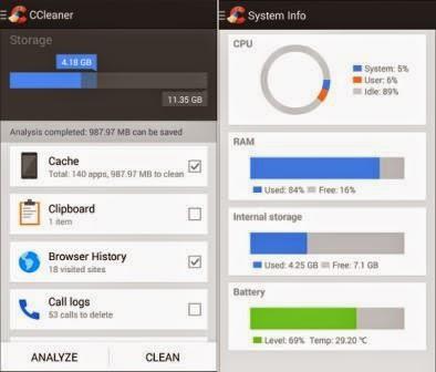 CCleaner Android Apk Terbaru