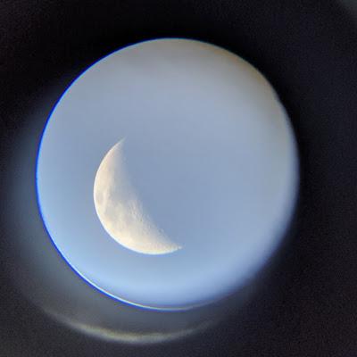 GeoSafari telescope review the moon as seen through the lens