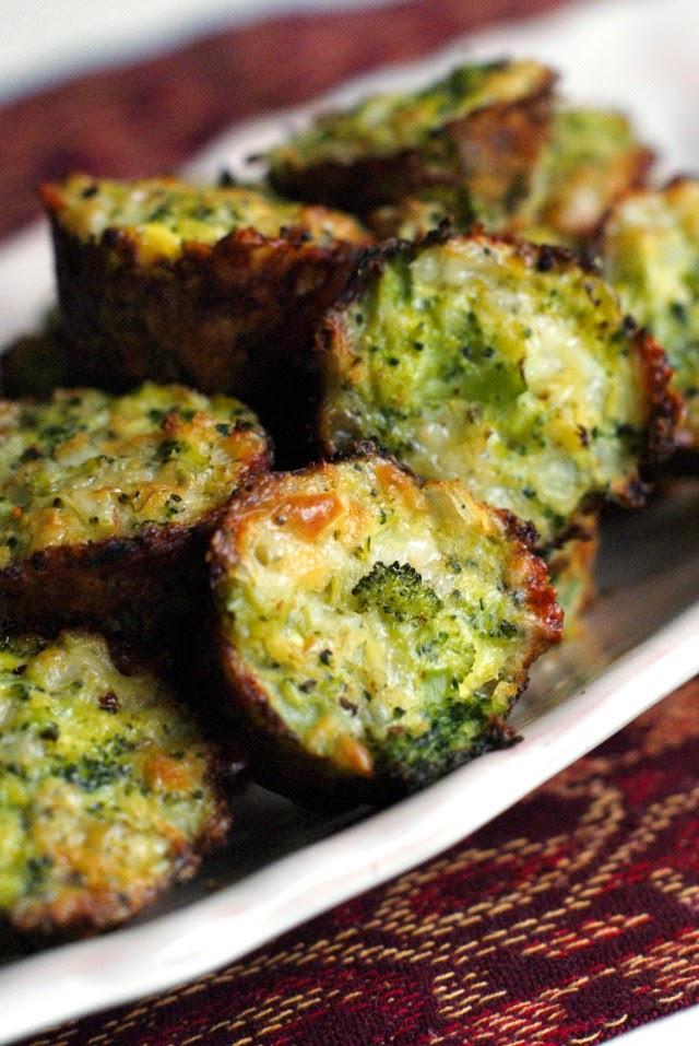 El brócoli Tots |  thetwobiteclub.com |  #cleaneating #healthy