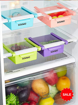 Fridge Organizer Set- Increase Storage capacity