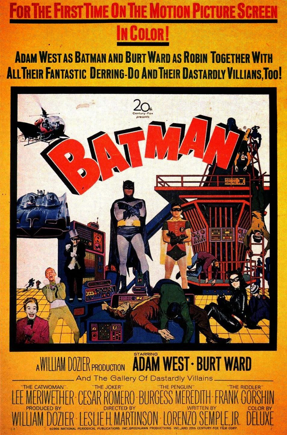 batman zbawia świat recezja filmu adam west 1966