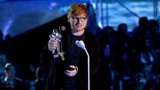 Ed Sheeran at the 2017 MTV VMAs
