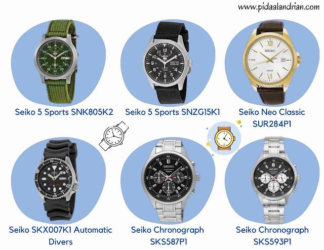 Jam tangan Seiko Indonesia
