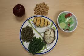 Portion control meal