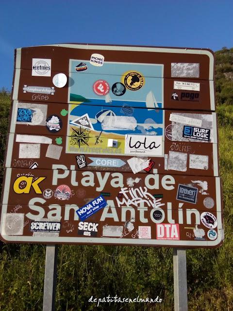 Surf en Playa de San Antolín Asturias