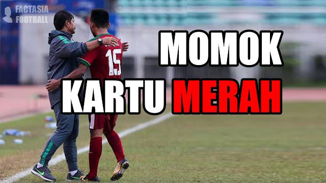 Momok Kartu Merah di Timnas Indonesia