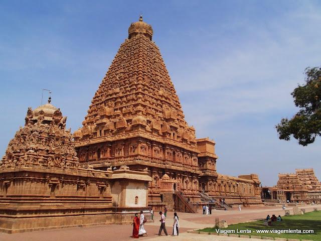 Dias 35 e 36 da viagem: cidades de Thanjavur e Trichy, Índia 1