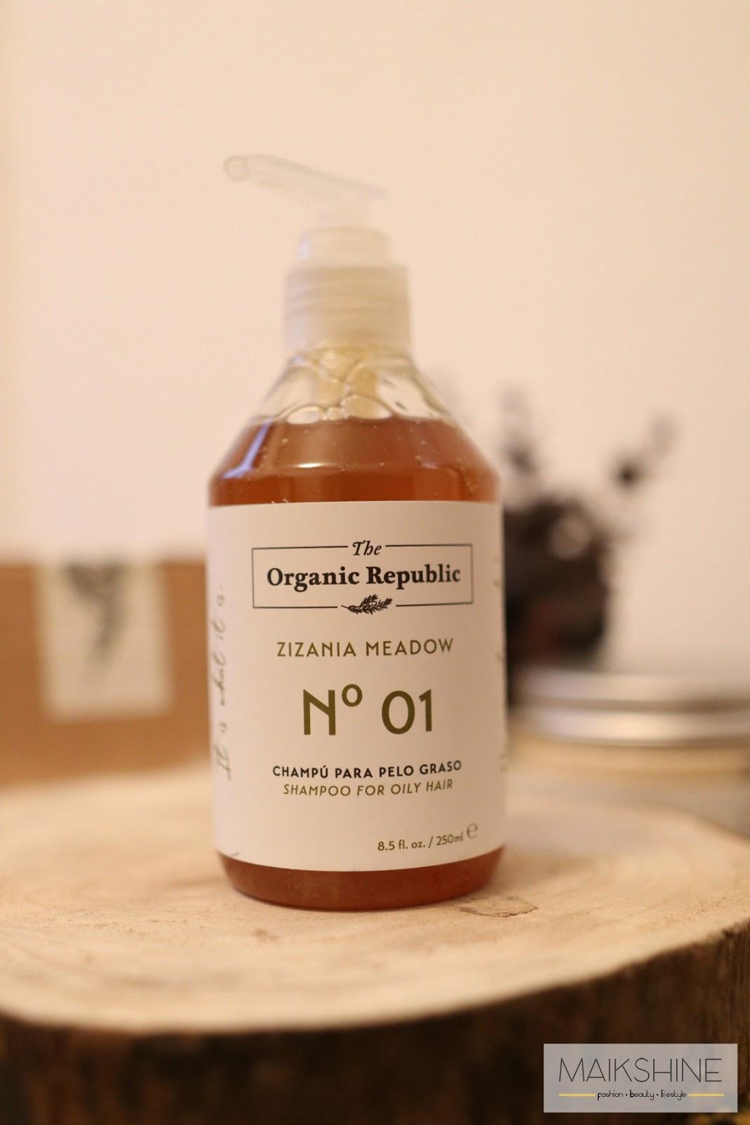 Champú The Organic Republic