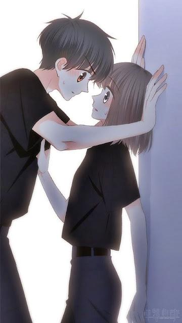Gambar anime romantis couple
