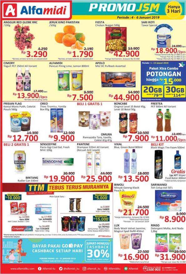 #Alfamidi - Promo Katalog JSM Periode 04 - 06 Januari 2019