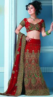юбка в пол красно-зелёный шелк ткани