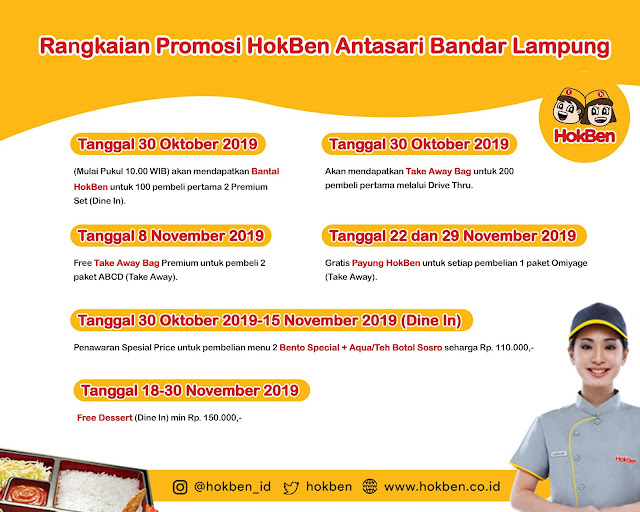 HokBen Antasari Bandar Lampung