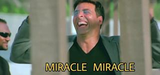 Miracle ! Miracle , Akshay kumar as rajeev | best welcome movie meme templates & dialogue