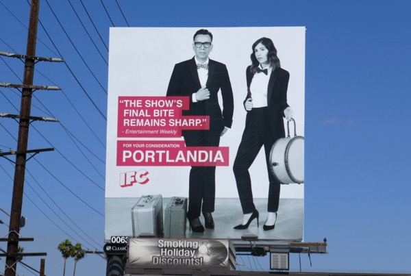 Portlandia season 8 Emmy consideration billboard