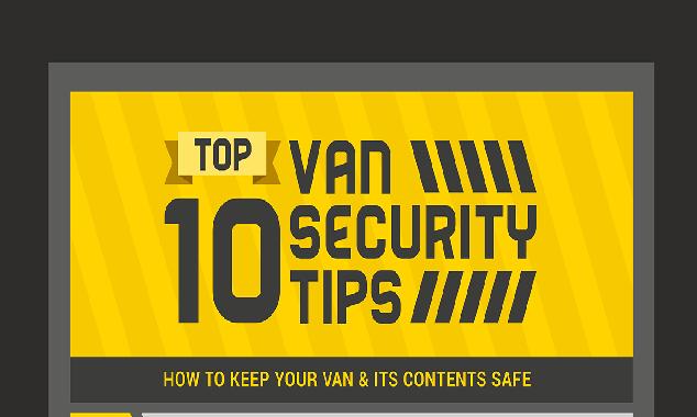 Top 10 Van security tips #infographic