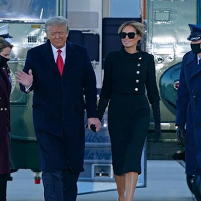 Trump abandona la Casa Blanca horas antes de la investidura