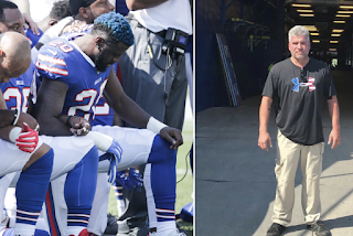 'Pushed to my limit': Stadium worker quits after Bills protest anthem
