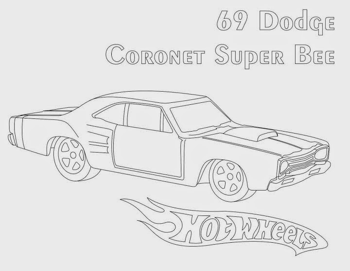 Hot Wheels Coloring Pages51
