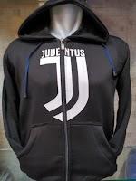 Jual Jaket Hoodie Juventus Warna Hitam Polos