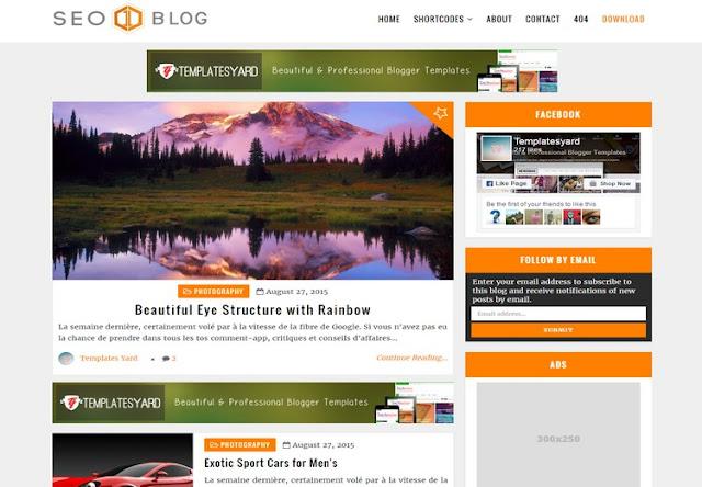 +10 Template Blog Keren Dan Gratis Terbaru di tahun 2017 Responsive BRO