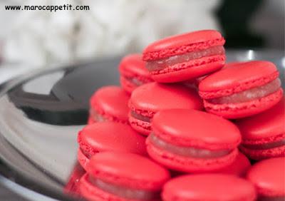Recette de macarons aux framboises | Raspberry macaroons recipe