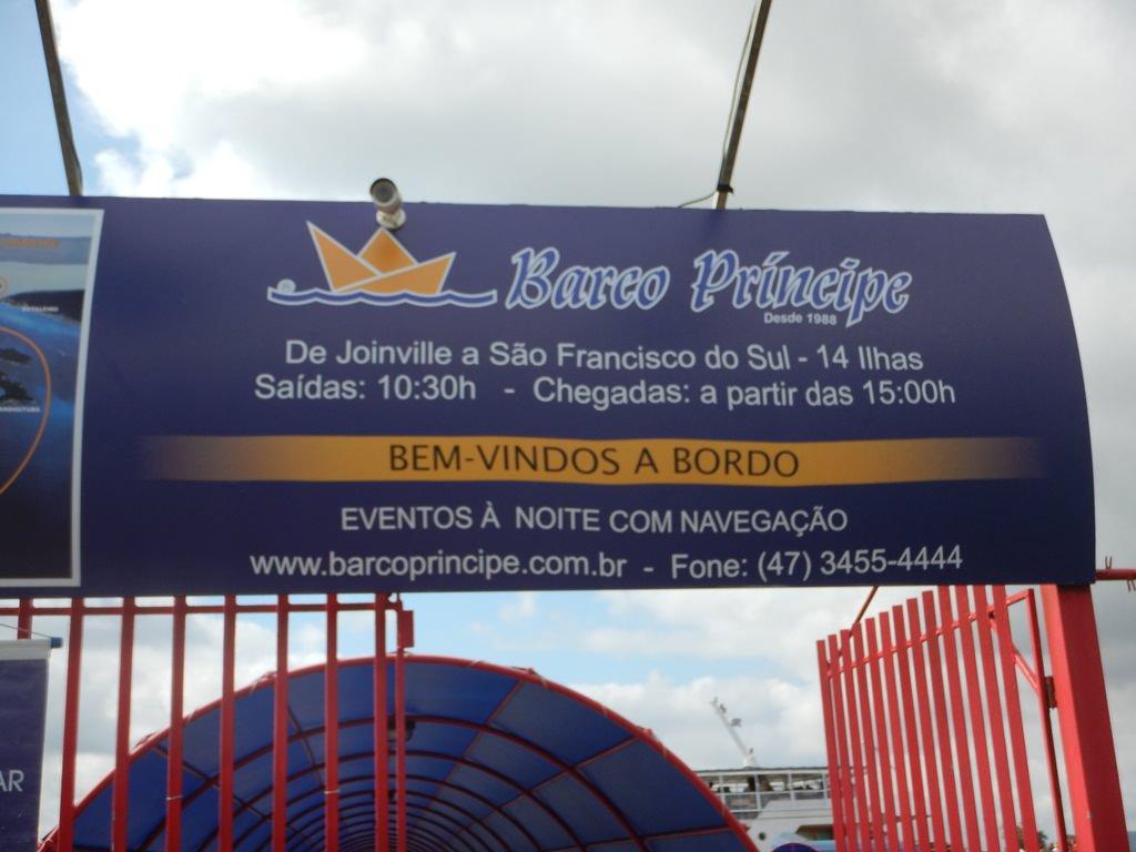 Barco Príncipe Joinville Horários