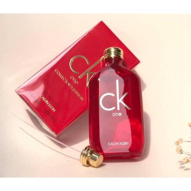 Nước hoa unisex Calvin Klein CK One Collector's Edition EDT 100ml