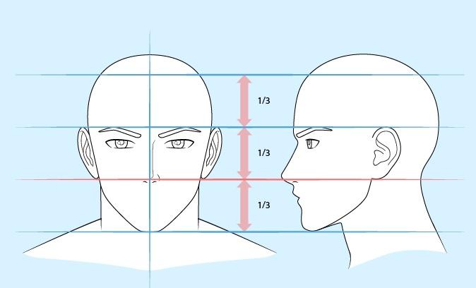 Gambar hidung pria anime