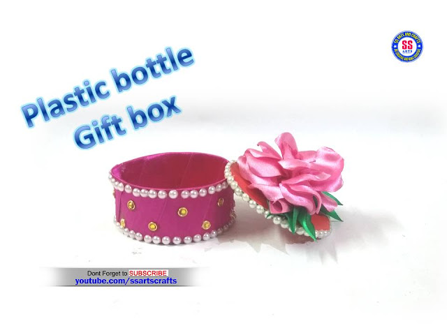 Here is Plastic bottle crafts,how to make gift box using with recycled materials,plastic bottle turned in to a beautiful gift box,recycled plastic bottle crafts,plastic bottle jewellery organizer,plastic bottle container,plastic bottle diy crafts,how to make things using for recycled plastic bottle,best out of waste for plastic bottle,art and craft for kids,how to make diy gift box from recycle plastic bottle