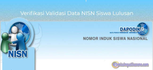 Penting ! Ajuan NISN Baru dan Edit NISN Resmi
