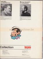 benjamin tome 2, 1981