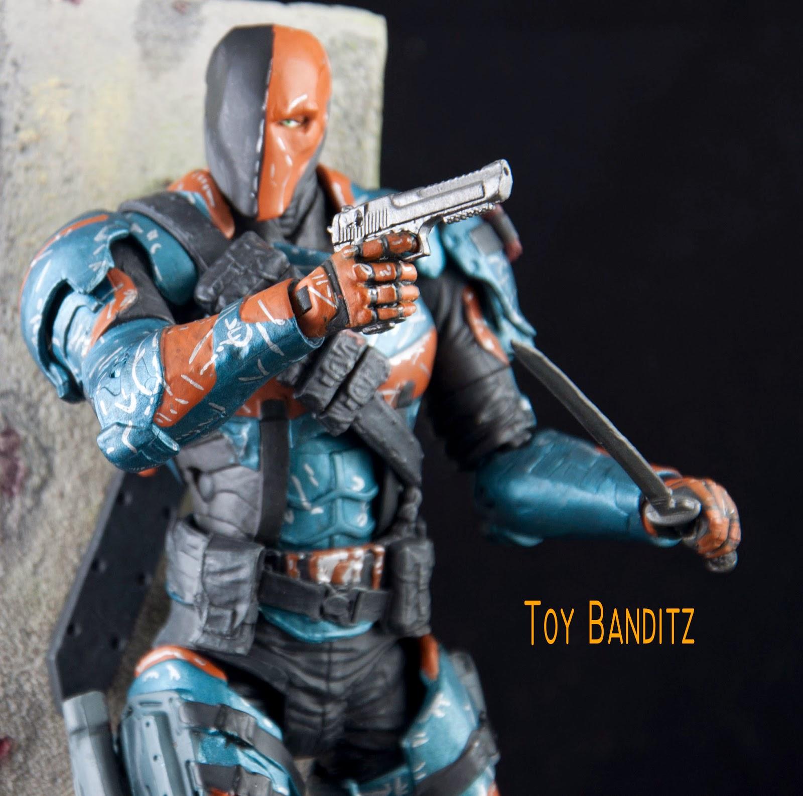toy banditz: ARKHAM ORIGINS SERIES 2: DEATHSTROKE   1600 x 1587 jpeg 270kB
