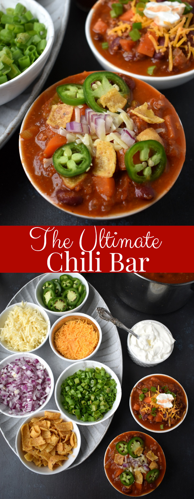 Ultimate Spicy Turkey Chili Bar