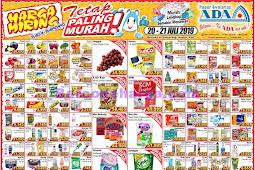 Katalog Promo ADA Pasar Swalayan Terbaru 20 - 21 Juli 2019