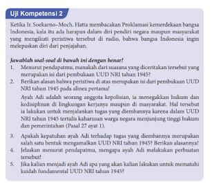Gambar Uji Kompetensi 2.4 PKN Kelas 8 Halaman 48