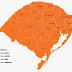 Coronavírus: Estado está totalmente em bandeira laranja