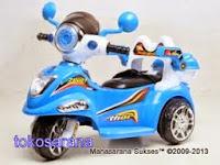 2 Motor Mainan Aki Pliko PK6100 thor dengan Kendali Jauh