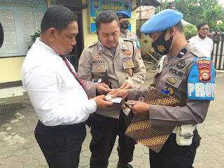 Terapkan Disiplin Kepada Anggota, Propam Polres Pelabuhan Makassar lakukan Gaktibplin