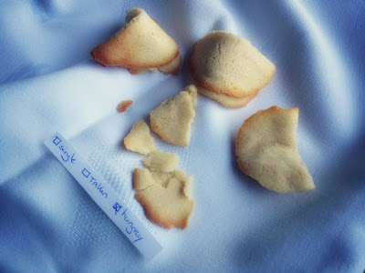 Foodblogswap: fortune cookies