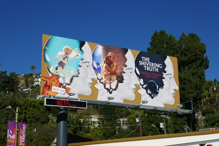 Shivering Truth series launch billboard