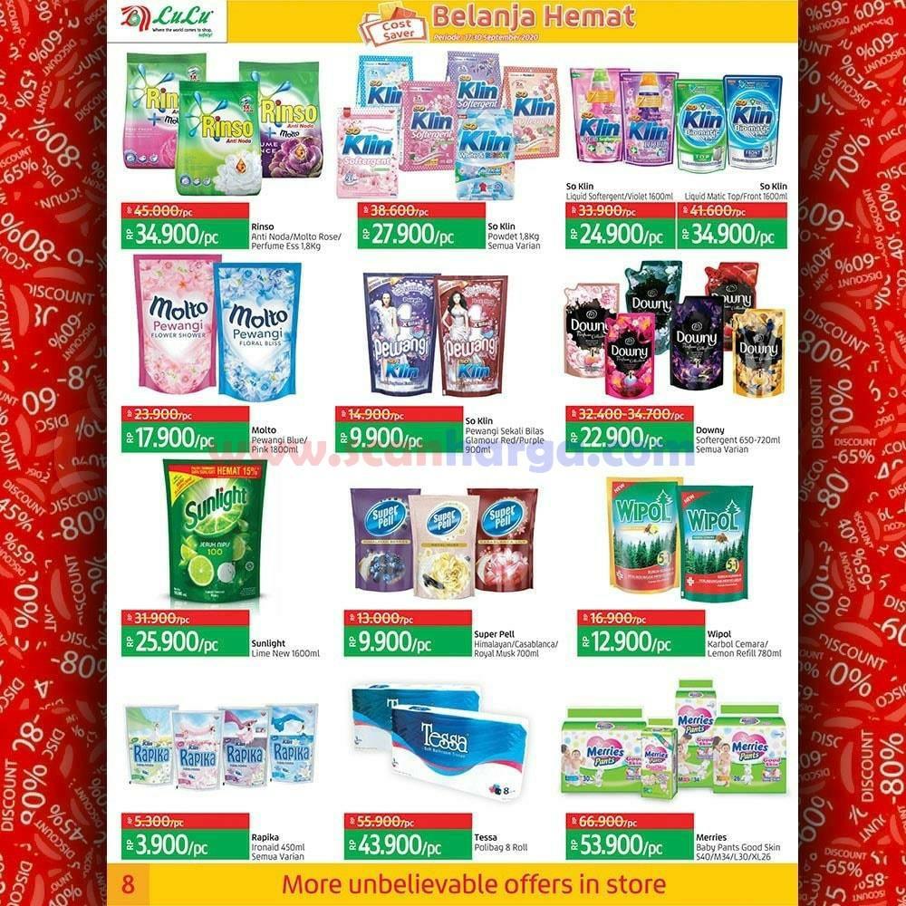 Katalog Promo LULU Supermarket 17 - 30 September 2020 8