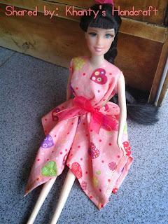 Pola Baju Barbie Dari Kain Perca Ruang Belajar Siswa Kelas 2