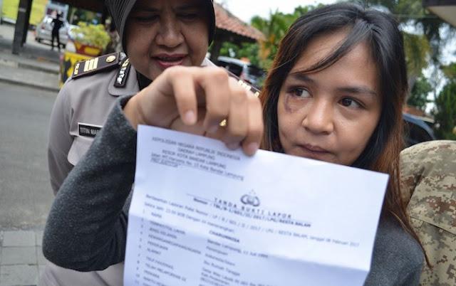 Istri Andika Kangen Band, Chairunnisa laporkan suaminya ke Polisi