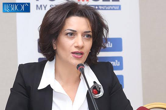 Anna Hakobyan pide la paz en Artsaj