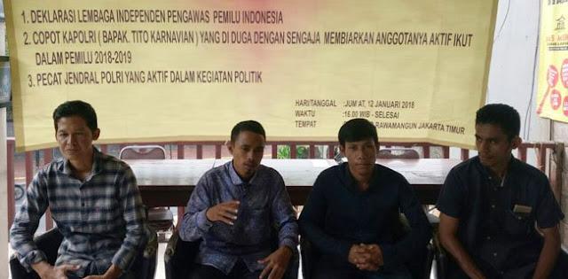 LPPI: Copot Jenderal Tito Atau Aksi Bela Indonesia!