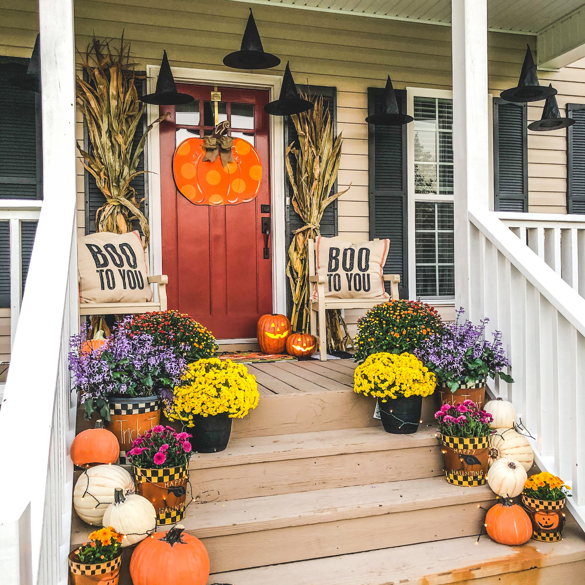 Fun Fall Front Porch How To