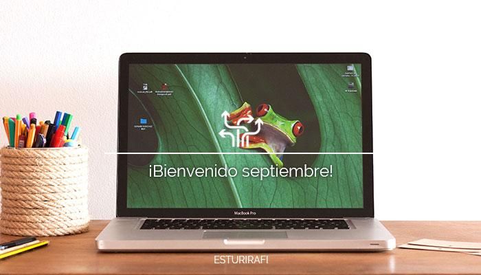 Bienvenido septiembre. Nuestros planes para el nuevo curso