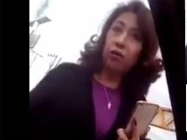 Mujer explota contra los maestros que están cobrando sin hacer nada y ella sufriendo con sus hijos