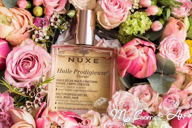 Usos y tipos del Aceite Prodigioso de Nuxe. Nuevo aroma Floral.